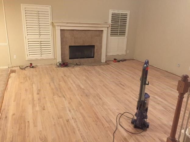 sand oak wood flooring